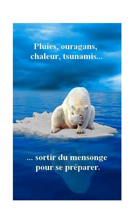 prepersavenir Le changement climatique.