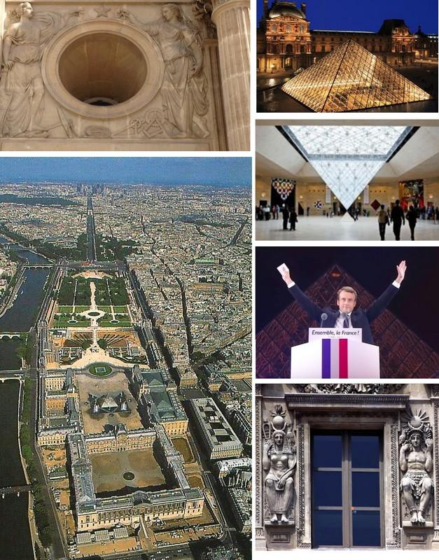 LOUVRE1 Visite du Paris maçonnique.