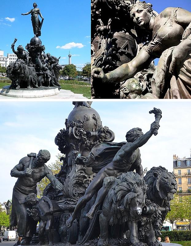 NATION1 Visite du Paris maçonnique.
