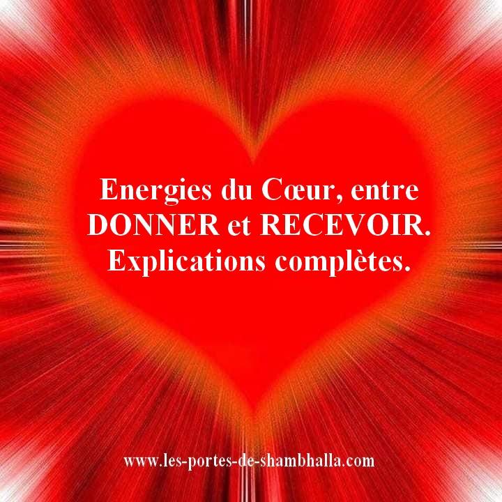 ENERGIESDUCOEUR Energies du Cœur, entre DONNER et RECEVOIR.