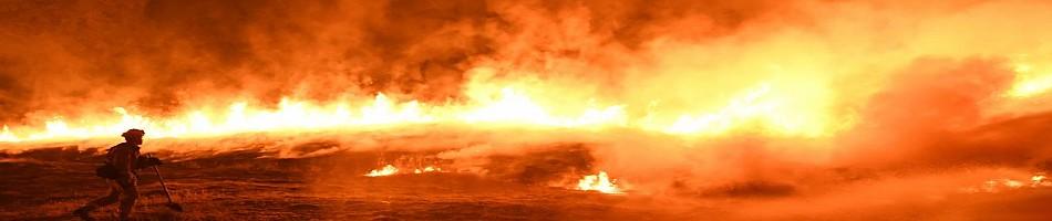 Bando-FEU-USA Les feux de l'ouest américain.