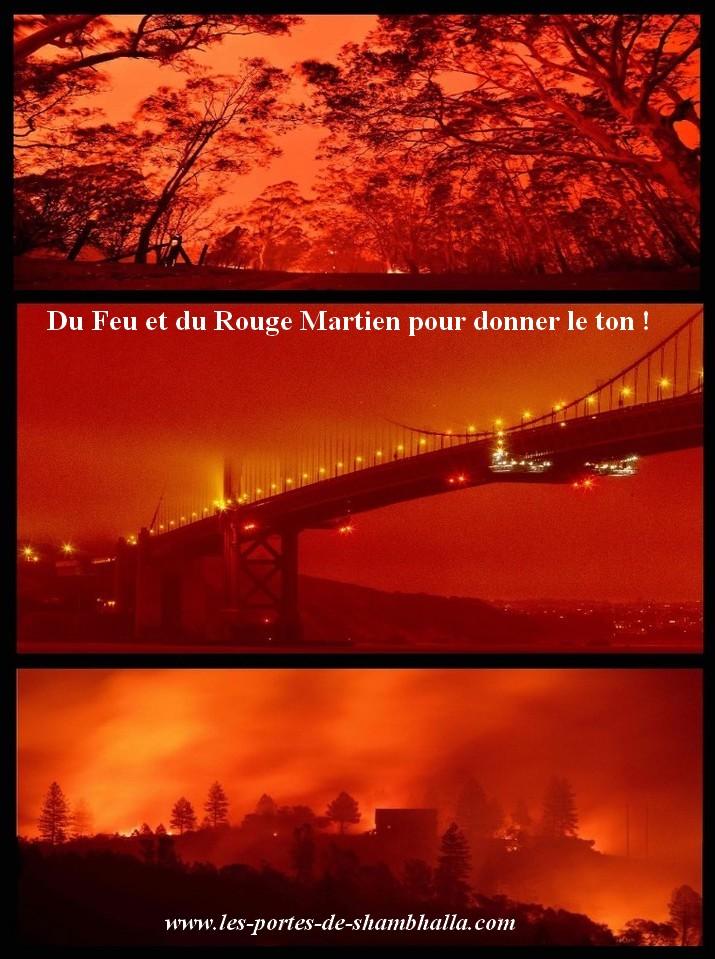 FEU-OUEST-USA Les feux de l'ouest américain.