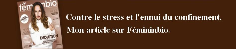 BANDO-FEMININBIO-3 Contre le stress et l'ennui du confinement.
