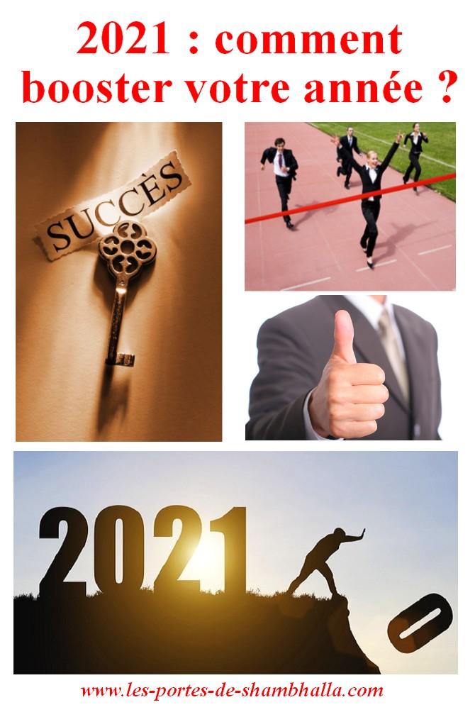 BOOSTEZ 2021, comment booster votre année ?