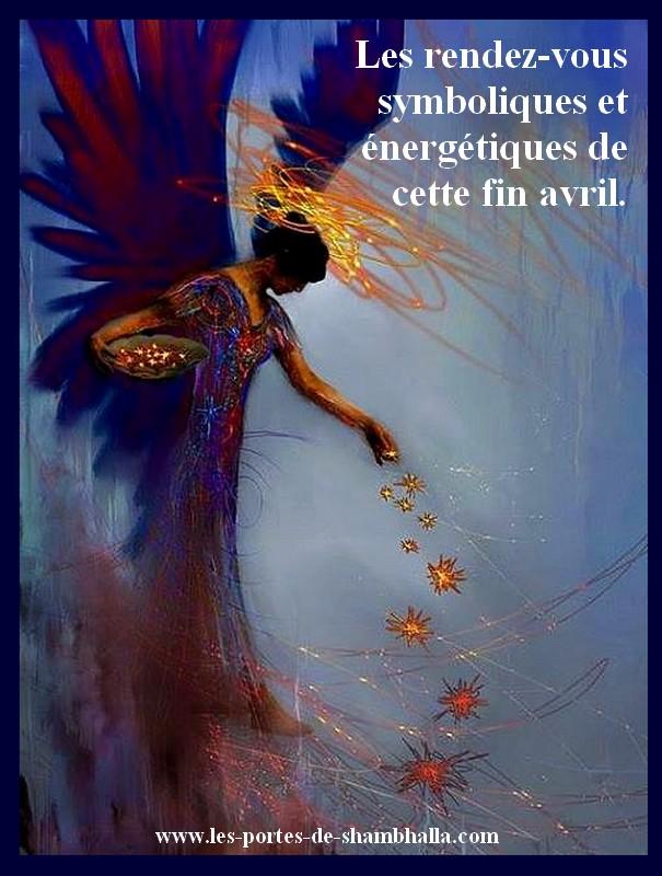 ARTEMIS Les rendez-vous symboliques et énergétiques de la fin avril.