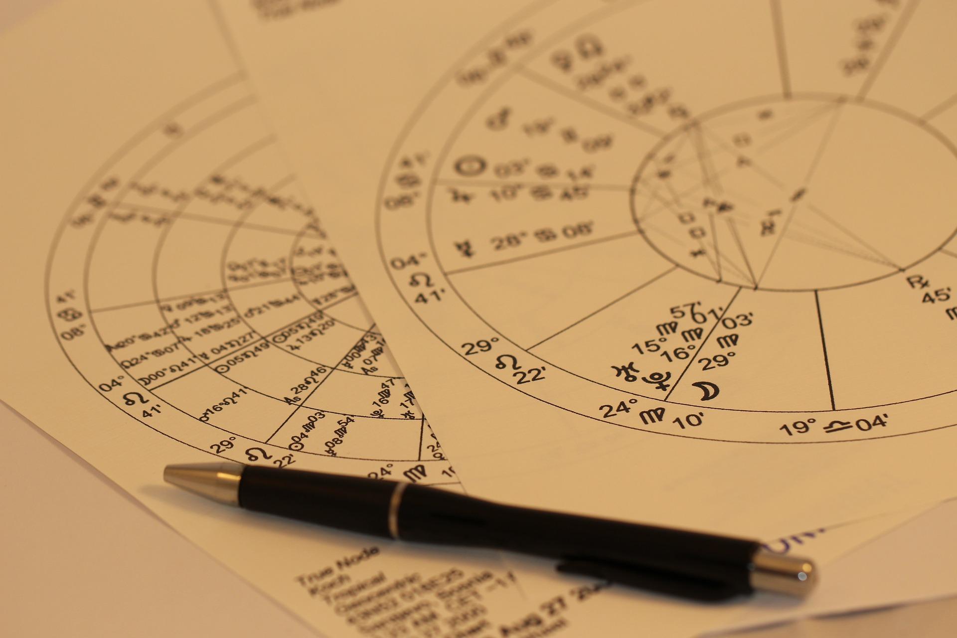 horoscope-993144_1920 Vocation et chemin de vie.